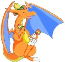 Blazer the Dancing Charizard by raizy