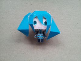 Hatsune Miku Papercraft by Animaister