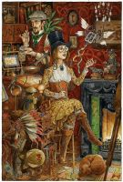 The Toymaker's Workshop by 3-hares