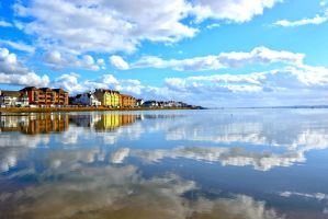 Reflection (West Kirby) by friartuck40