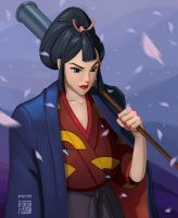 Lady Eboshi by Indofrece