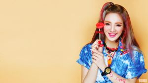 HYOYEON [KISS ME BABY-G] WALLPAPER 1920 X 1080 by ExoticGeneration21