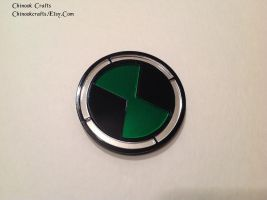 Ben 10 Plumbers Badge - Omnitrix Symbol by ChinookCrafts