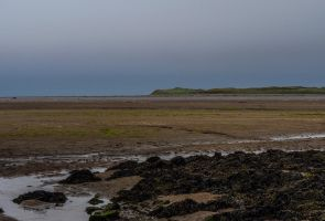 Causeway to Lindisfarne. Northumbria. England. by jennystokes