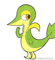 Snivy by Pure-Resonance