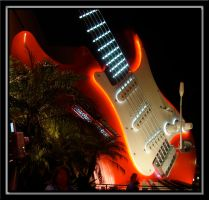 Aerosmith Guitar Framed by WDWParksGal