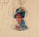 Victorian lady necklace by skuggsida
