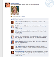Elsa's and Cole's war on facebook by tmpoole96