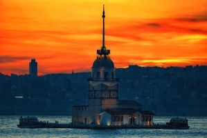 maiden's tower.... by 1poz