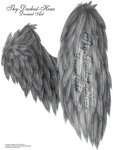 Fluffed Wings 01 - Silver by Thy-Darkest-Hour