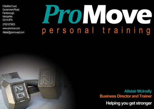 ProMove Personal Training - Flyer by Irn-Bru16