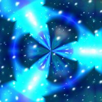 Fluorescent Blue Psychedelic by Anaisabel22