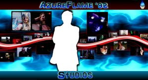 AzureFlame '92 Desktop Wallpaper #02 by RBIII-Ricster