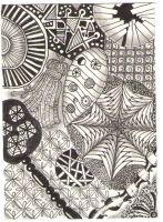 first zentangle atc by scholz73