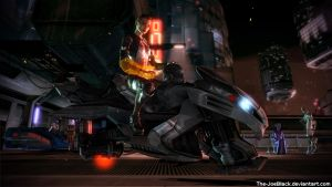 Mass Effect - Jack on Omega by The-JoeBlack