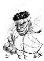 HULK SMASH!!! by STONE WALLS by JamesLeeStone