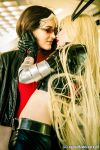 Magik and Rogue by Firelight-Cosplay