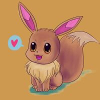 Eevee Love by muffinlee