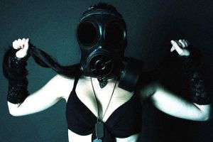 Gas Mask Series -14 by Trappedbehindthelens