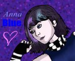 Anna Blue by 1conchi
