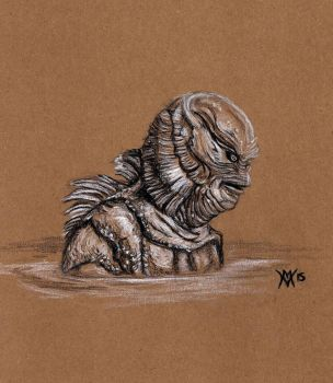 Creature from the Black Lagoon by Gossamer1970
