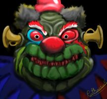 Rudy The Clown by pathwreck
