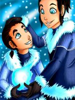 Legend of Korra: Brothers by TouchedVenus