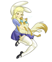 Fionna and cake by Minty-Lint