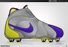 Brett Favre Premium Cleat by 5MILLI