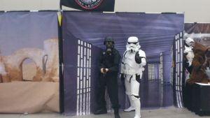NF Comicon : Me and Storm Trooper by TheWarRises