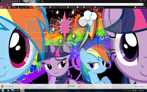 TwiDash Google Chrome Theme by aeroyTechyon-X