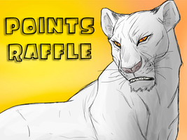 Points Raffle For Commissions by albinoraven666fanart