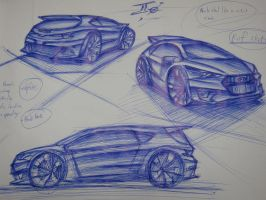 hatchback concept development..... final by v3110z