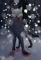 Wolf by Bloodjer