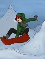 SP: Snowboard colored by numbah3