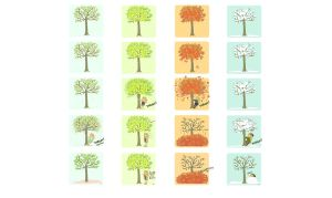 Tree Shakin Seasons wallpaper. by StressedJenny