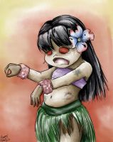 Zombie Hula by Capt4in-Ins4nity