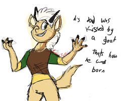 i designed him when i was drunk by Koili