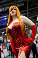 Jessica Rabbit Cosplay by star-shine-girl