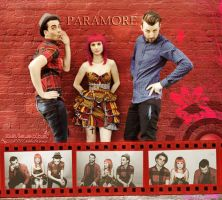 Paramore blend by nataschamyeditions