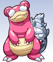 Slowbro by rongs1234