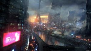 Future Paris by Edzzy