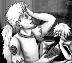 Sakumo and Kakashi by The-Dreaming-Dragon