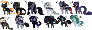 Pony adopts by dragonsweater