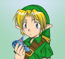 Young Link by KaoriNeco