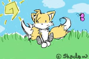 Tails Tablet by chaos-shadow