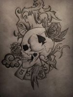 Skull of Spades by naldojunio