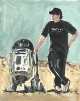 Lucas and R2 by sunglasses-mage
