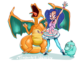 Pokemon commision by temporaryWizard