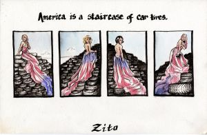 America Is.. by blindthistle